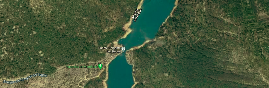 Mapa Congost siegue